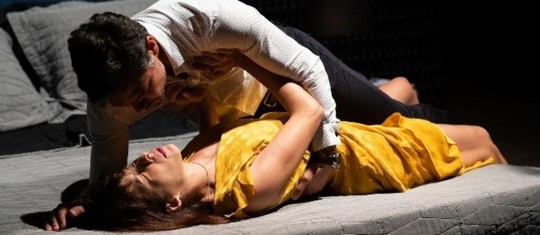 Michelle Batista destacou a parceria com o colega Gabriel Gracindo no set