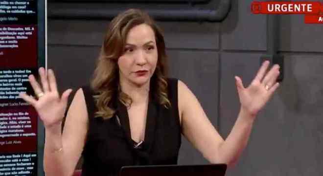 Maria Beltrão perdeu a paciência