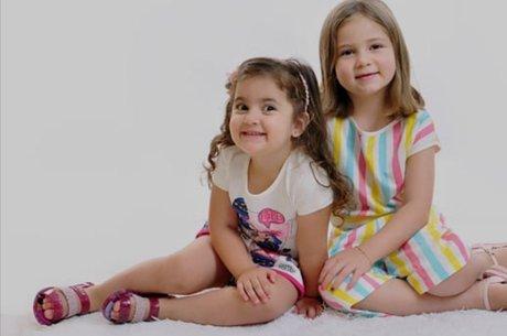 A irmãs têm 3 e 6 anos, respectivamente