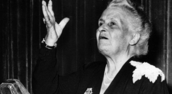 María Montessori foi indicada três vezes ao Prêmio Nobel da Paz por seu trabalho na educação