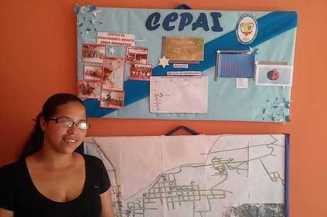 Maria faz o censo dos refugiados venezuelanos na cidade