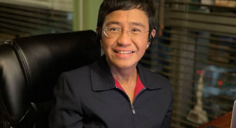 Jornalista filipina Maria Ressa ganhou o prêmio Nobel da Paz 2021