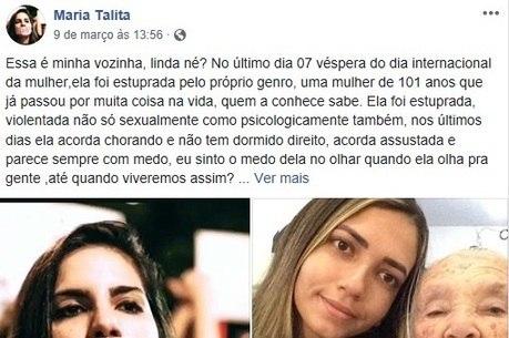 Neta pede que a Justiça brasileira não falhe