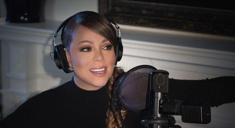 Mariah Carey, de 51 anos, é conhecida por canções como 'Vision of Love'