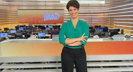 "Mariana Godoy, titular do ""Fala Brasil"""