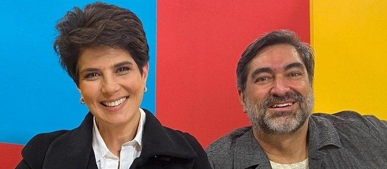 Mariana Godoy e Zeca Camargo do novo programa das manhãs na Band