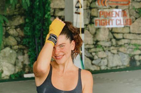 Mariana usa treino contra o estresse