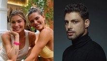 Mariana Goldfarb, mulher de Cauã, posta foto com Grazi e fãs piram