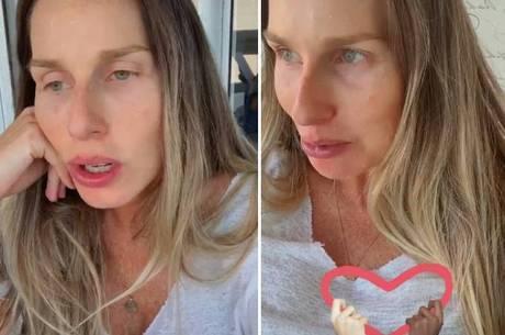 Mariana Weickert teme passar doença para o filho