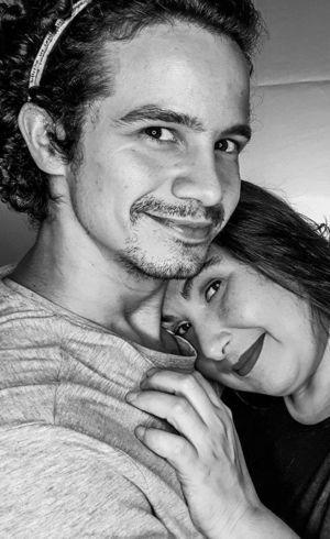 Mariana e o namorado, Diego