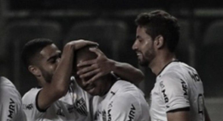 Mariano marcou o gol atleticano diante do Athletic no Horto