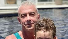 Curado do câncer, marido de Ana Hickmann se declara para o filho