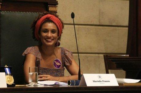 A vereadora Marielle Franco, morta na quarta (14) com o motorista Anderson Pedro no Rio