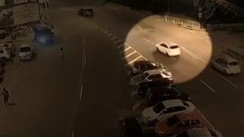 Novas imagens flagram perseguição a carro de vereadora e motorista (Reprodução)