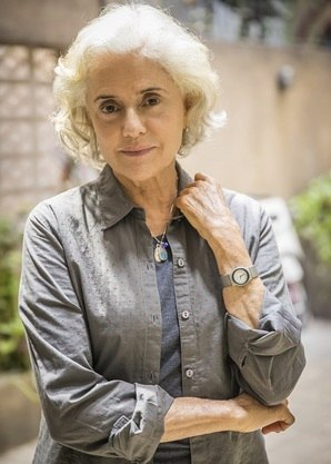 "Marieta Severo ""avó"" de Andréia Horta em ""Um Lugar ao Sol"""