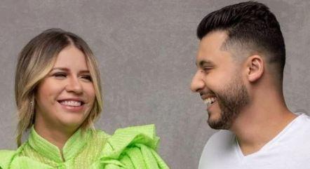 Marília Mendonça e Murilo Huff anunciaram que não estão mais juntos. Brigas teriam causado a separação