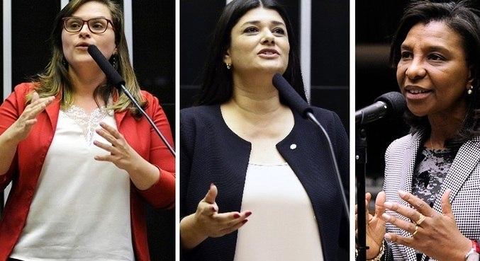 Marília Arraes, Rose Modesto e Rosângela Gomes ocuparão a Mesa Diretora da Câmara