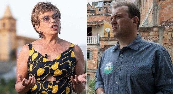 Marília Campos (PT) e Felipe Saliba (DEM) disputarão 2º turno em Contagem (MG)