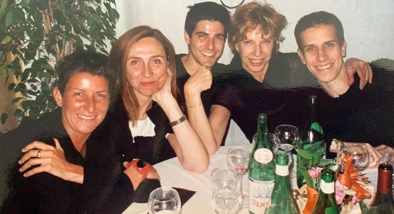 Registro de Marília e Gianecchini foi feito no ano de 1998, em Paris