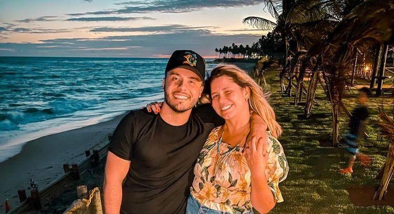 Marília e Murilo reataram relacionamento no fim de novembro, após boatos de ciúmes