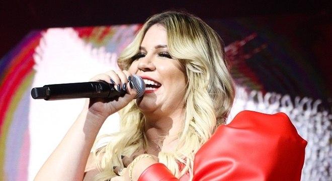 Marília Mendonça caiu algumas posições e foi a 7ª mais ouvida com 'Graveto'