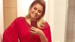Marília Mendonça ironiza ao exibir corpo mais magro nas redes sociais: 'Photoshop' ()