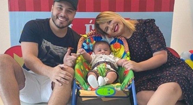 Marília Mendonça, Murilo e filho Léo