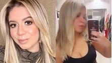 Marília Mendonça mostra magreza e rebate seguidor sobre cirurgias