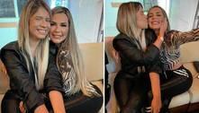 Deolane Bezerra posa com Marília Mendonça na web: 'Almas gêmeas'