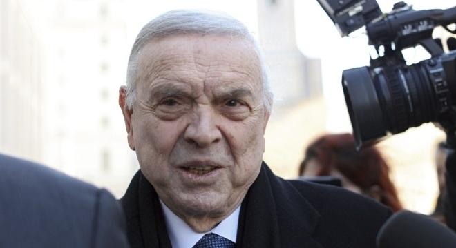 O ex-presidente da CBF, José Maria Marin, que foi banido do futebol