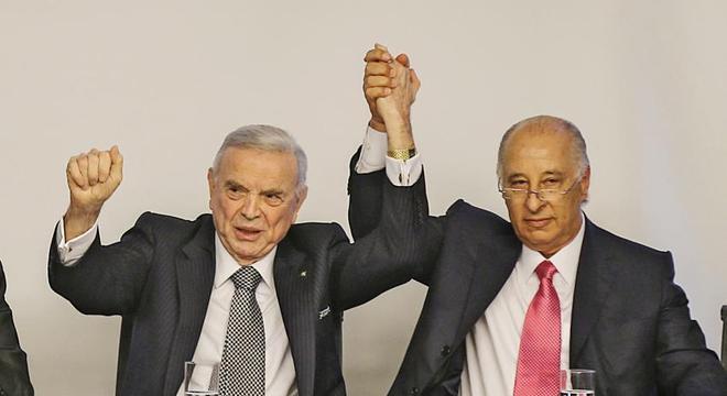Marin e Del Nero. Banidos do futebol. Esse tipo de gente preside a CBF
