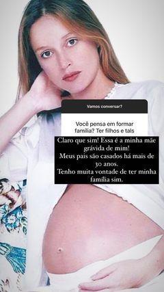 Marina Ruy Barbosa diz que pretende ter filhos
