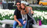 Marina e Xande assumiram o namoro em janeiro de 2016. Eles se conheceram em uma festa na virada de 2015 para 2016 em Fernando de Noronha e foi amor à primeira vista