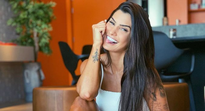 Marina Ferrari foi a 12ª participante revelada de 'A Fazenda 13'