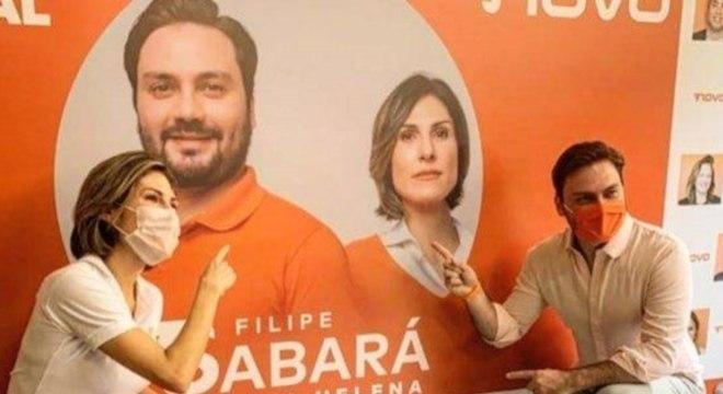 Maria Helena renunciou à candidatura de vice na chapa de Filipe Sabará