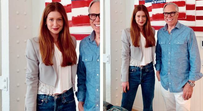 Marina Ruy Barbosa usa look casual com jeans
