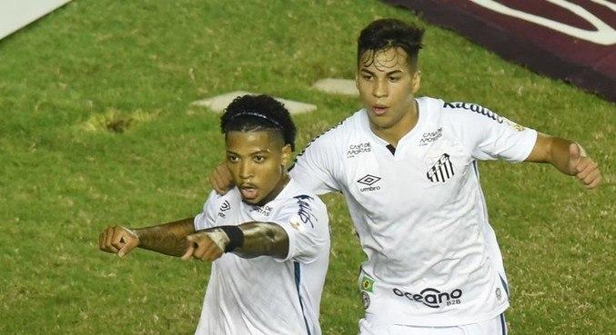 Marinho e Kaio Jorge são destaques do Santos nas semifinais da Libertadores