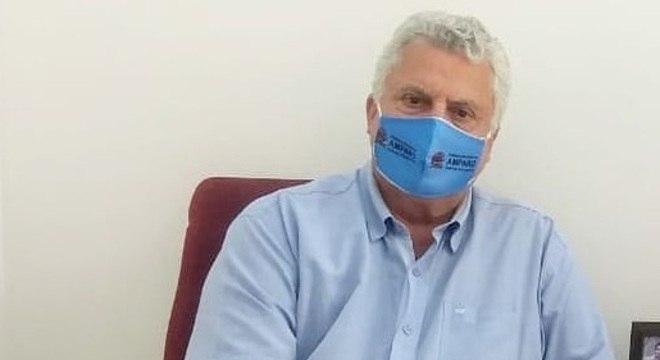Mario Auler apareceu em imagens de encontros semanais com jornalista