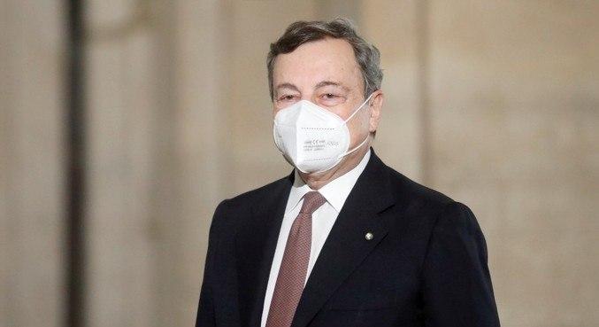 Draghi confirmou a formação de um novo governo italiano