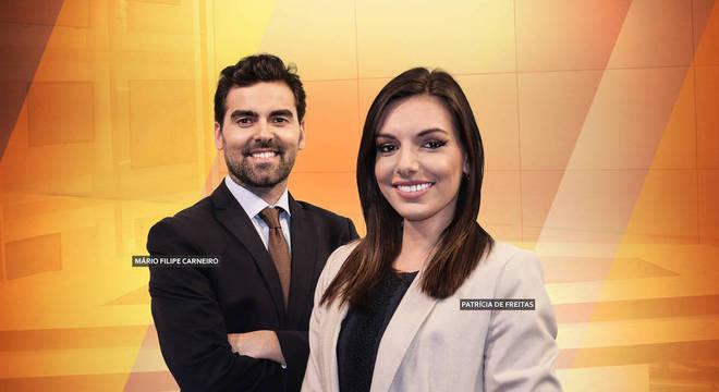 Mário Filipe Carneiro e Patrícia de Freitas
