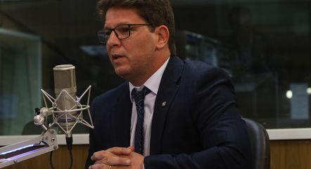 Na imagem, secretário Mario Frias (Cultura)