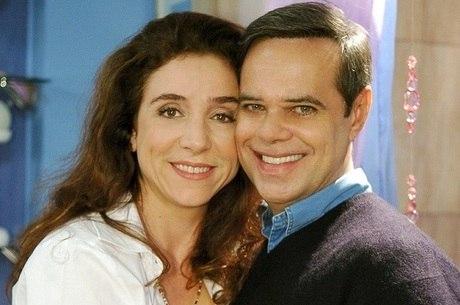 "Marisa Orth e Diogo Vilela do elenco do ""Zorra"""