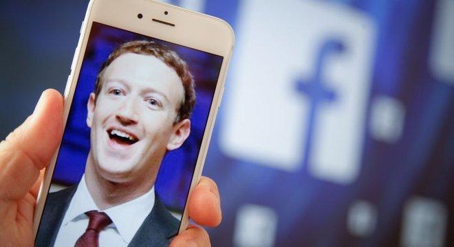 Mark Zuckerberg, o criador da rede social Facebook