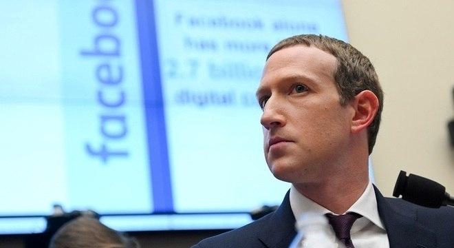 Mark Zuckerberg foi alvo da maior parte dos questionamentos dos congressistas