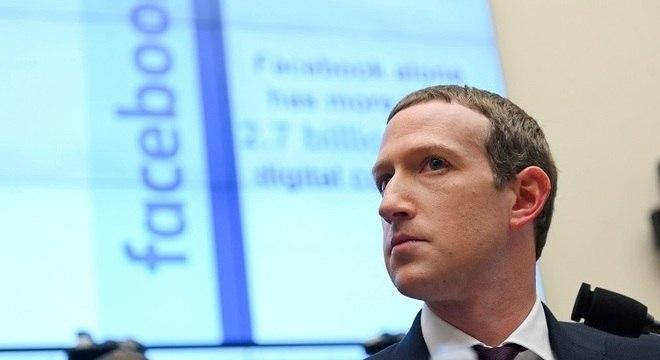 O CEO do Facebook, Mark Zuckerberg