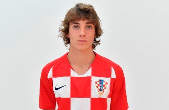 Marko Brkljaca (Croácia) - Clube: Hajduk Split (Croácia) - Posição: Meio-campista