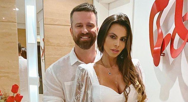 Marlon e Maria Clara