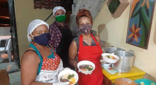 Uma das cozinhas do projeto, no Rio de Janeiro