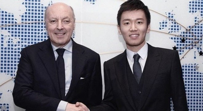Giuseppe Marotta e Steven Zhang