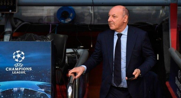 Beppe Marotta, da Inter, a caminho do limbo